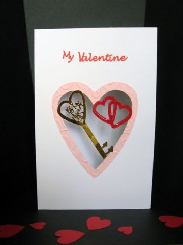 Key To My Heart Card Template